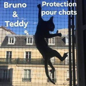 Filet protection pour chats